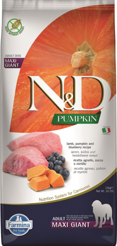 N&D Dog Pumpkin Lamb & Blueberry Adult Maxi Giant